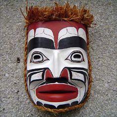 Southern Kwakiutl King of the Sea Mask