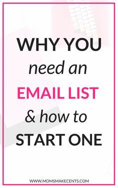 I wish I'd known this when I first started blogging my email list has helped me grow so much! | list building | email marketing | mailchimp | convertkit | active campaign |