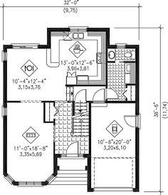 - 80478PM floor plan - Main Level