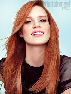 Jessica Chastain   She stunned in her Oscar-nominated performance in The Help , so funny and messy and vulnerable playing a lonely, rich woman born of trash. And…