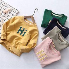 Hi基本款棉質上衣 男童女童裝棉T(90-120cm)【凡妮小舖】