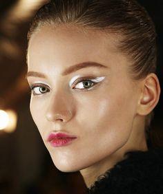 Futuristic Eye Makeup Makeup: futuristic focus
