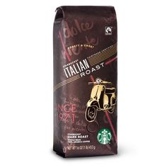 Starbucks Fair Trade CertifiedTM Italian Roast, Whole Bean Coffee (1lb) >>> Click image for more details.