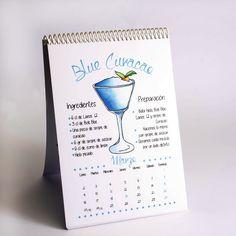 Calendario de cocteles