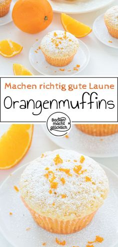 Schnelle, fluffige Orangenmuffins mit Joghurt Simple recipe for quick orange muffins. The orange muffins are wonderfully fluffy and soft. The smell, appearance and taste of the simple orange muffins simply ensures a good mood. Homemade Cheesecake, Easy Cheesecake Recipes, Easy Cookie Recipes, Cupcake Recipes, Baking Recipes, Dessert Recipes, Pan Rapido, Cake Mix Cookies, Pumpkin Spice Cupcakes