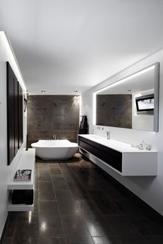 clean and modern minimalist bathroom 65 Most Popular Small Bathroom Remodel Ideas on a Budget in 2018 Houzz Bathroom, Small Bathroom, Master Bathroom, Bathroom Ideas, Bathroom Vanities, Bathroom Black, Remodel Bathroom, Long Narrow Bathroom, Colorful Bathroom