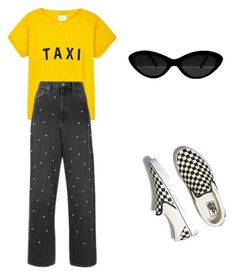 """""""Taxi style"""" by anamincu ❤ liked on Polyvore featuring Compañia Fantastica, Étoile Isabel Marant and Vans"""
