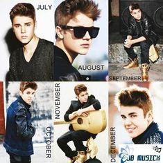 Justin Bieber 2013 Calendar – Official