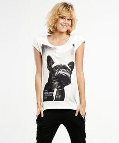 French Bulldog T-shirt SELVA  Womens premium cotton by SelvaStore