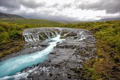 Bruarfoss, Iceland The Best Kept Secret Blue Waterfall - Men Do Outdoors Best Kept Secret, Natural Wonders, Iceland, Waterfall, Beach, Amazing, Cute, Travel, Articles