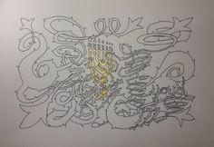 "Saatchi Art Artist Yehouda Morin - YOUD; Drawing, ""BLANODO Menorah 2"" #art"