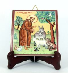 Ehi, ho trovato questa fantastica inserzione di Etsy su https://www.etsy.com/it/listing/178345316/st-francis-of-assisi-ceramic-tile