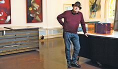In the Studio: Larry Bell