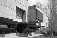 Elektroslavonija Headquarters, Osijek,Croatia, built between 1967–71. architect: Boris Krstulović