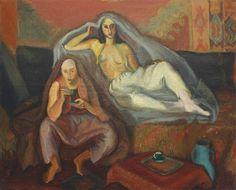 Tatar Interior - Iosif Iser - Expressionism,1933