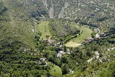Unesco Causses cévennes. Cirque de Navacelles.