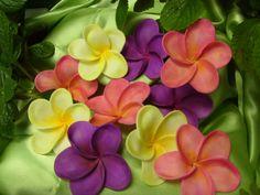 Sugar Gumpaste Hawaiian Plumeria Frangipani by SandysCakeBling, $29.75