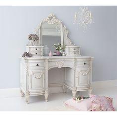 Bonaparte Dressing Table. #Frenchbedroomcompany #Frenchbedrooms #Romance
