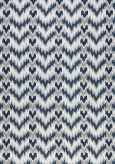 TEMPO, Indigo and Sterling, W80814, Collection Solstice from Thibaut