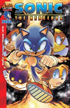 Sonic the Hedgehog (1993) Issue #278