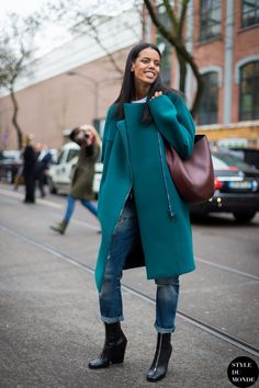 modelsoffthecatwalk:   Grace Mahary  ... Fashion Tumblr | Street Wear, & Outfits