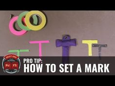 PRO TIP: How to Set a Mark (for your actors) - YouTube