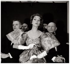 """""""Madam, please keep your sleeves in check as I cannot see my beloved opera!""""  photo by Nina Leen"""