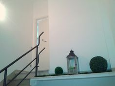 Giardino sulle Scale, decorazione per un angolo anonimo dell'androne-scala (progetto: Katia Pepe & Marco Giunti)
