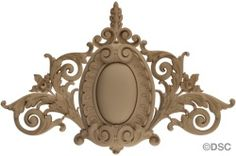 Cartouche-French Ren. 24H X 37W - 1 5/8Relief 7754A