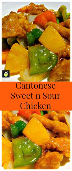 Sweet and sour pork recipe pinterest chinese restaurant pork authentic cantonese sweet and sour chicken come and see how to make it just like in the restaurants chinese food at its best forumfinder Choice Image