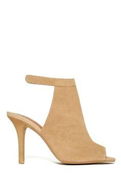 Jeffrey Campbell Lorah Heel - Nude | Shop Shoes at Nasty Gal