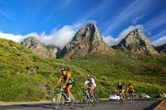 Cycling is a great way to see landmarks, such as Table Mountain, from a completely new perspective. Underground World, Honeymoon Places, Table Mountain, My Land, New Perspective, South Africa, Cycling, Wheels, Tours
