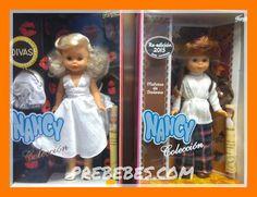 En el año 2000, se relanzó Nancy Colección, una joya para los coleccionistas: 6 modelos distintos con nuevo vestuario en algunos casos y, en otros con ropa inspirada en la moda de los años 60 y 70…