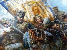 """""""Бой за знамя 29-го пехотного Черниговского полка под Орлау"""". Август 1914 г."""