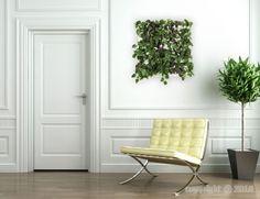 Mur  végétal (à partir de 50 €) sur www.fleursdavenir.com