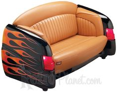 Custom 1951 Mercury Car Couch