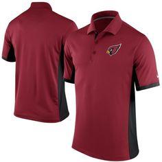 Men's Arizona Cardinals Nike Cardinal Team Issue Performance Polo