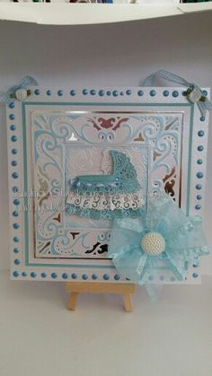 Crafter ' s Companion Diesire Create a Card Decadence die framing Tattered Lace Cradle