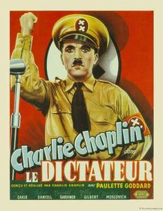 Charlie Chaplin Le Dictateur (The Great Dictator) Belgian Poster Old Film Posters, Classic Movie Posters, Cinema Posters, Classic Films, Old Movies, Vintage Movies, Great Movies, Paulette Goddard, Film Movie
