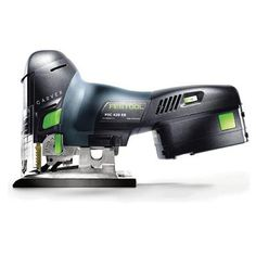 Festool 561668 Carvex PSC 420 EBQ Lithium Ion Cordless Jigsaw Tackle your most demanding (and remote) applications with the robust and versatile new Carvex Woodworking Tool Cabinet, Woodworking Jigsaw, Essential Woodworking Tools, Antique Woodworking Tools, Woodworking Organization, Unique Woodworking, Woodworking Workbench, Woodworking Workshop, Woodworking Techniques