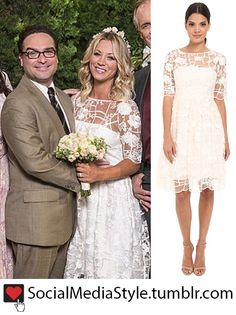 "Buy Kaley Cuoco (Penny)'s ""The Big Bang Theory"" Wedding Dress, here!"