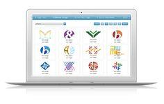 """Online Logo Maker - Plataforma online para diseño de """"logos"""" prefabricados.  Aplican un descuento del 20% en el precio si  se comparte en Facebook, Google+ o Twitter."""