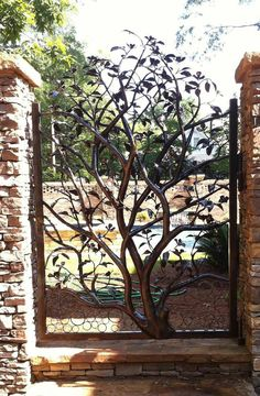 Metal Tree Gate