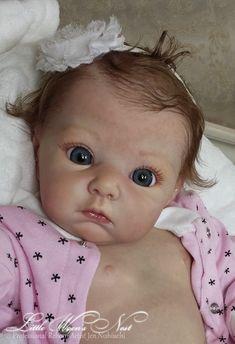 "Beautiful Reborn Baby Girl Doll ""Lola"" ~ Adrie Stoete ~ Limited Edition by Noginsk Elektrostal Reborn Toddler Dolls, Newborn Baby Dolls, Reborn Baby Girl, Reborn Dolls, Reborn Babies, Reborn Child, Real Baby Dolls, Realistic Baby Dolls, Baby Girl Dolls"