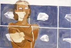 Největší zbraní žen jsou oči, říká malíř Daniel Balabán. Proto je zaslepil