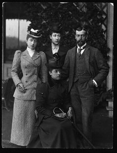 George V and his sisters.