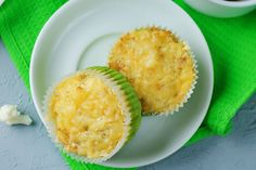 A sajtos-karfiolos muffin jóval diétásabb, mint a pogácsa, de legalább olyan finom. Muffins, Grains, Dinner, Healthy, Ethnic Recipes, Food, Dining, Hoods, Meals