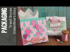Sizzix - Big Shot - Treat Box tutorial n.1 for Valentine's Day - YouTube; video tutorial per creare con la Big Shot Sizzix una scatolina per San Valentino o altre occasioni