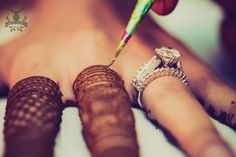 Engagement Rings - Beautiful Diamond ring with a Solitaire | WedMeGood #weddingrings #jewellery #wedmegood #rings