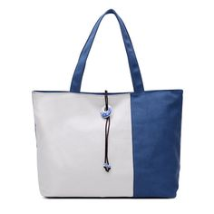 Women Contrast Color Canvas Tote Bags Casual Blue And White Porcelain Capacity Shopping Bags  Worldwide delivery. Original best quality product for 70% of it's real price. Hurry up, buying it is extra profitable, because we have good production sources. 1 day products dispatch from...
